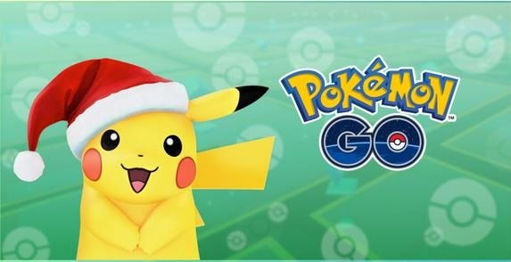 pokemon Go12月29日までサンタピカチュウが登場!