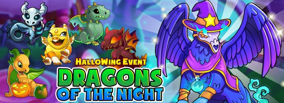 Ever WingイベントDragons of the Night – HalloWing Event!が始まりました